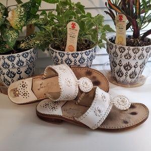Jack Roger's White Sandals